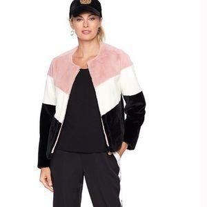 Serena Williams Faux Fur Jacket